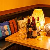 5名様程度~8名様まで御利用可能な半個室です。仕切りがあるテーブル席です。