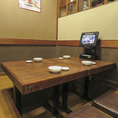 プライベート空間の個室は落ち着いた雰囲気でゆっくりと楽しみたいお客様にぴったりです