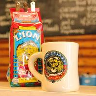 ハワイで定番の「ライオンコーヒー」♪テイクアウトOK