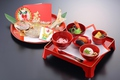 料理メニュー写真お食い初め祝い膳(祝い鯛付き)