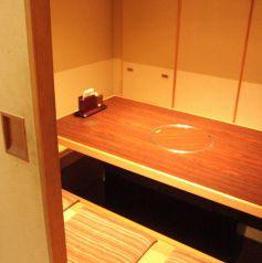 プライベート感を重視した個室が人気♪