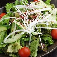 韓国風チョレギサラダ