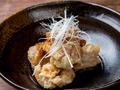 料理メニュー写真若鶏の唐揚げネギソース