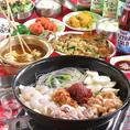 女子会に◎美味しいナッコプセコースも★お店仕込みの特製スープに厳選された具材が溶け込んでもう絶品♪美容効果が期待できる栄養たっぷりのお鍋ですのでたくさん食べてキレイを目指しましょう!