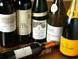 豊富なワインメニュー