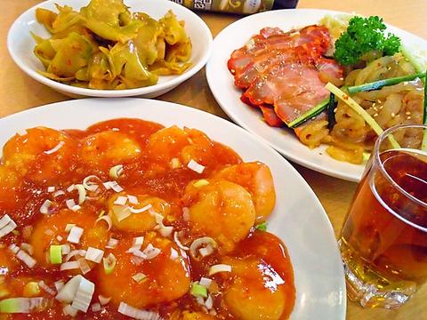 金沢文庫の人気中華料理店。コースは1480円~4980円迄幅広くご用意しています♪