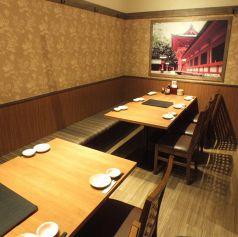 テーブル席も多数ご用意!人数に応じてご案内可能です★デートや友人同士、様々なシーンに対応できます♪海鮮居酒屋 はなの舞 蓮田西口店