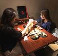 【2~6名様個室】静かに利用できる個室は少人数の飲み会にもぴったり!誕生日・女子会・合コンなど、様々な用途でご利用いただけます!