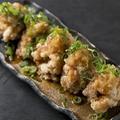 料理メニュー写真若鶏の唐揚げあっさりおろしポン酢