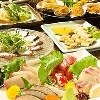 宴会料理は鮮魚も堪能★おまかせコース4000円~