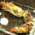 料理メニュー写真海老の豚しそ巻