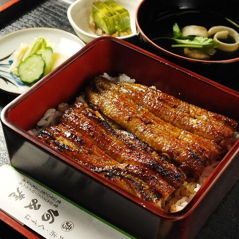 高級うなぎをリーズナブルに。関西風の地焼きで頂く、老舗の味をお楽しみ下さい。