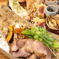 宴会用の飲み放題付コースは4,500円~ご用意◎季節によって変わるメニューをお楽しみください。