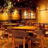 ニューヨークのカフェをイメージした、洗練されたお洒落な空間