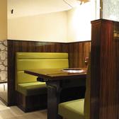 焼肉レストランとは思えない、デートに最適なお洒落な内装に拘ったお店です♪唯一の【ソファー席】で、ゆったりとお寛ぎ頂けます♪♪