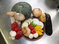 料理メニュー写真焼き野菜盛り合わせ(季節によって、旬の食材を提供します。)