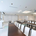 貸会議室などのご利用も可能です。会議室としてご利用後、懇親会としてご利用いただけます。