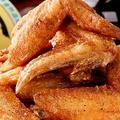 料理メニュー写真ワールド山ちゃんの手羽先                   若鶏の唐揚げ元気風
