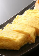 料理メニュー写真もみじ卵のふんわりだし巻き