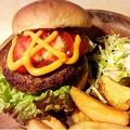 料理メニュー写真ウエスタンチーズバーガー