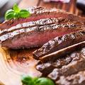料理メニュー写真黒豚の炭火ステーキ