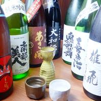 料理に合う東北の地酒や特選日本酒もご用意!