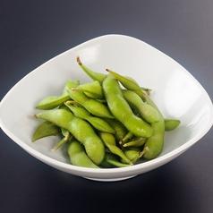 料理メニュー写真とりあえず枝豆食べといて