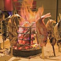 大絶賛の嵐!名物料理「原始焼き」をご賞味ください!