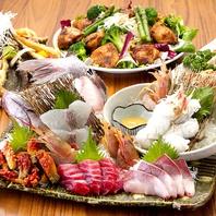 ご宴会コース1500円(税抜)+1500円で飲み放題付に!