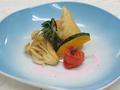 料理メニュー写真海老と筍の春巻
