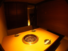 簾で個室空間も演出できます!