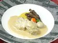 料理メニュー写真子牛のクリーム煮