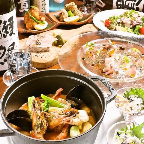 山口県の郷土料理と美味しいお酒。進化する山口。創作料理。
