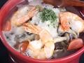 料理メニュー写真海老ときのこの塩麹和ひーじょ