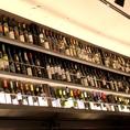 ボトルワインは常時30種以上取り揃えております。お好み等お気軽にお申し付け下さい。