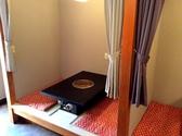 4名様までご利用いただける座敷半個室が4部屋ございます。
