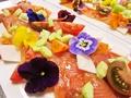 料理メニュー写真喜連川ヤシオマスのカルパッチョ