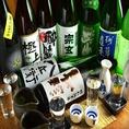 会社の宴会や友人との飲み会など各種ご宴会での乾杯に厳選したこだわりの日本酒や焼酎をお楽しみください。新鮮な魚介との相性抜群なお飲み物を豊富に取り揃えております。当店自慢の海鮮料理をお供にぜひご賞味くださいませ。