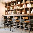 東京のライフスタイルを豊かに!気軽に洋書や和書、写真集、絵本などの書籍を閲覧できるスペースも備えております。