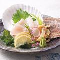料理メニュー写真北海道直送活け帆立のお造り(磯焼も承ります。)