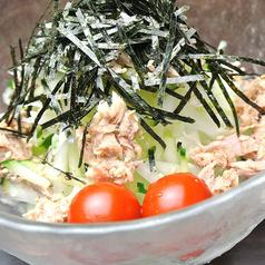 料理メニュー写真青パパイヤとツナのサラダ
