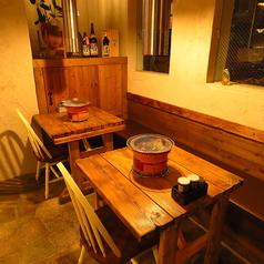 【2名様テーブル席】カフェのような洋風空間
