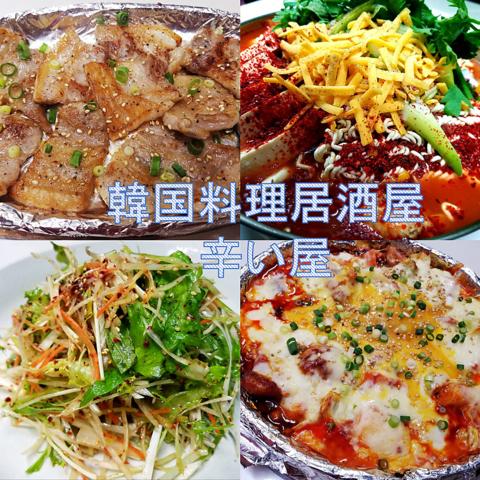 成田 韓国料理居酒屋 辛い屋