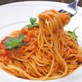 料理メニュー写真蟹クリームパスタ