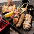 料理メニュー写真【串焼き】串焼き六点盛り