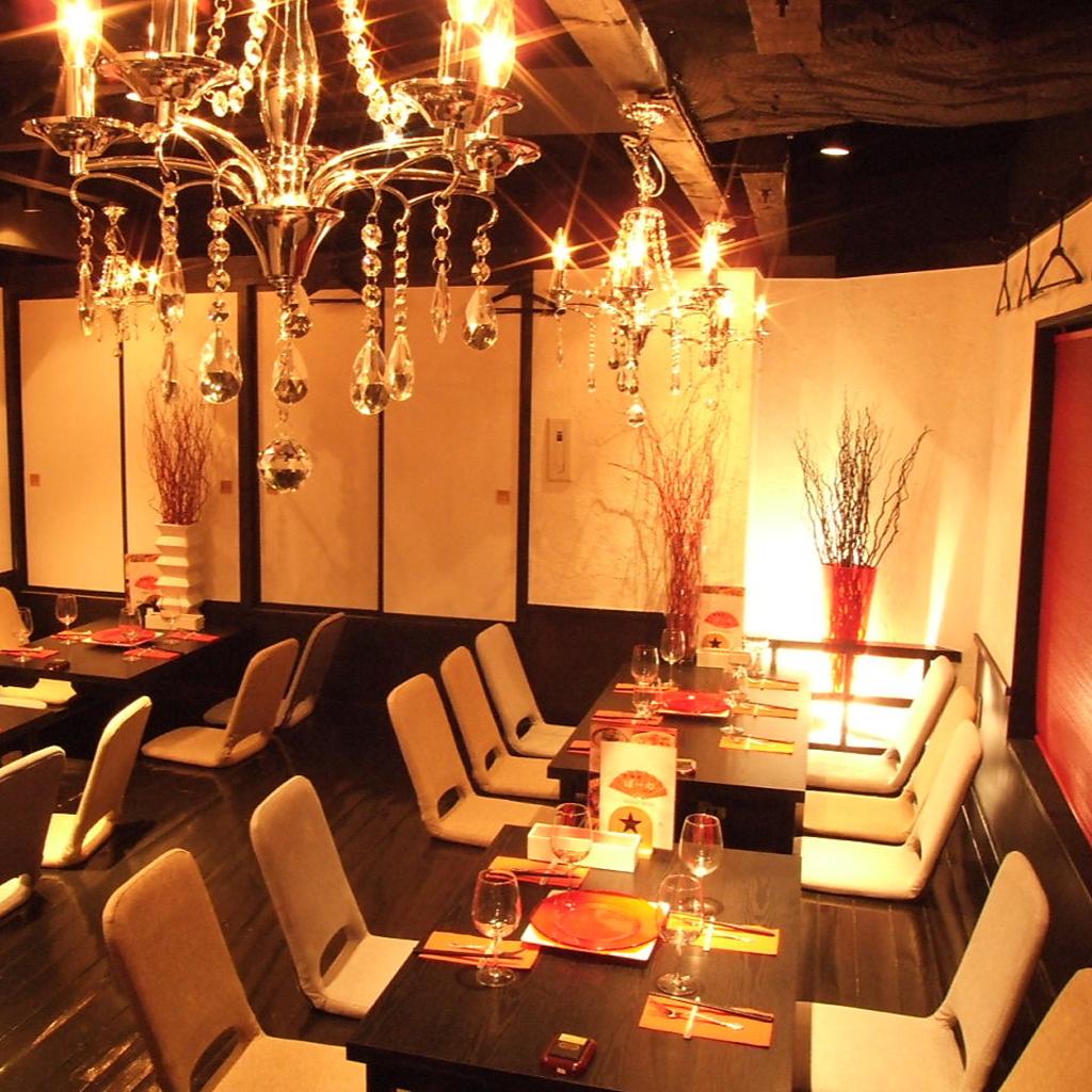 40名様個室!!団体様でもゆったり座れる大人気の個室です♪会社宴会など各種宴会にお薦め!