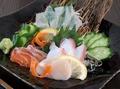 料理メニュー写真本日のお刺身の3種盛り