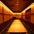 【14~16名様】コース注文限定!プライベートな時間を楽しめる『掘りごたつVIP個室』.