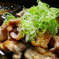【新潟地鶏の欲張り炭火焼き】~バリ焼き~