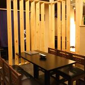 【合コンにもおすすめ】梅田駅徒歩5分なので待ち合わせ・解散にも便利。仕事終わりのちょっとした飲み会も大歓迎!2名様~最大16名様迄ご利用いただける半個室の他、大小様々なテーブル席やカウンター席を完備しております。落ち着いた雰囲気の漂う店内で楽しいひと時をお過ごしください。